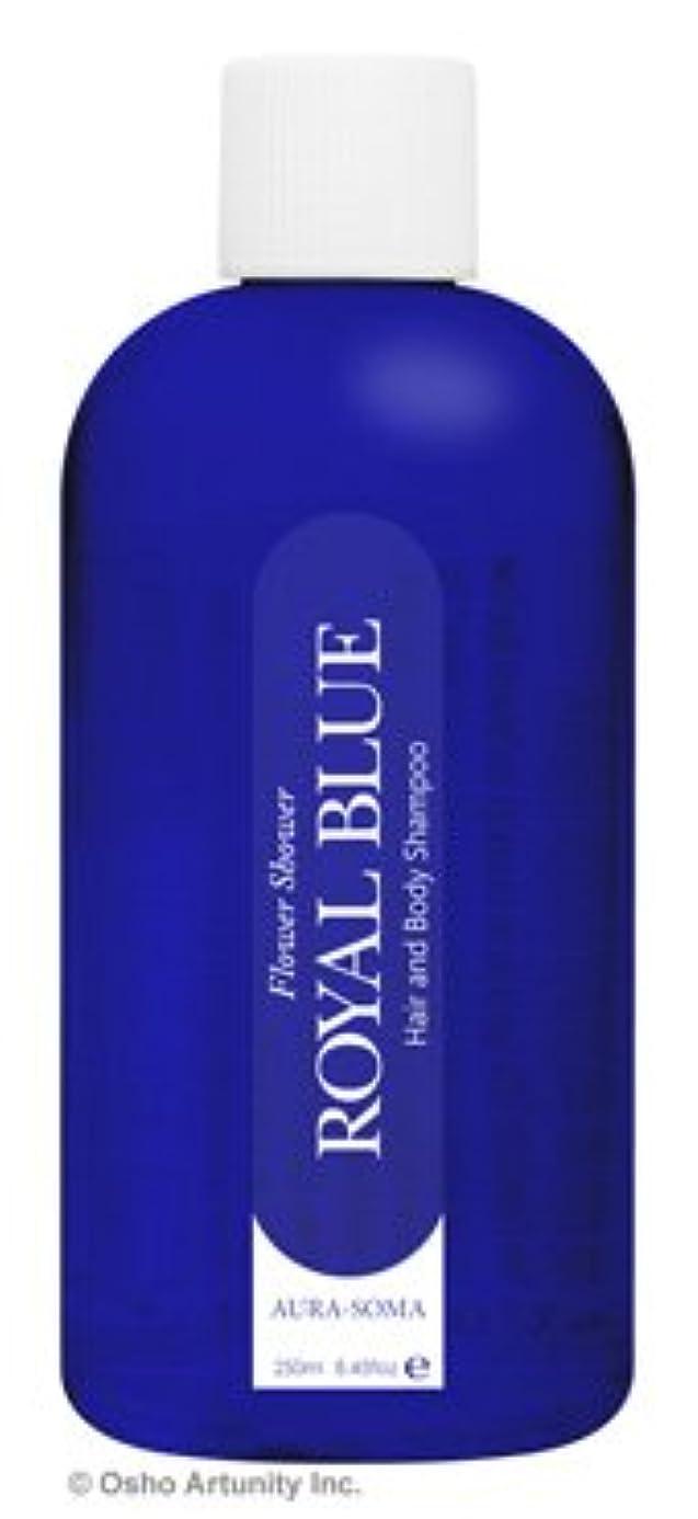 かもめ熱望する軽量オーラソーマ フラワーシャワー ロイヤルブルー 250ml ラベンダー