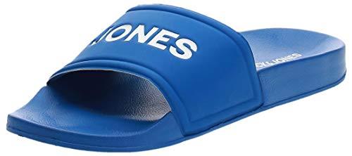JACK & JONES Herren Jfwlarry Pool Slider Imperial Blue Geschlossene Sandalen (Blau (Imperial Blue), Numeric_42)
