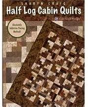 Half Log Cabin Quilts