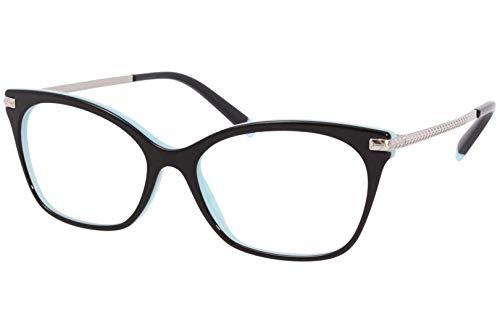Tiffany Brillen TF 2194 Black Turquoise 54/16/140 Damen