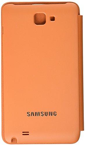 Samsung EFC-1E1C - Funda con tapa para Galaxy Note N7000, color naranja