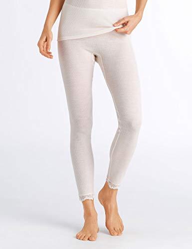 Hanro vrouwen wollen kant legging thermische broek