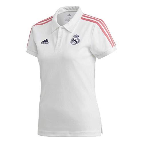 Adidas Real Madrid Temporada 2020/21 Polo Oficial, Mujer, Blanco, 2XL