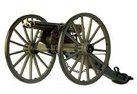 Model Expo Guns of History MS4010 Civil WAR Gatling Gun 1:16 Scale