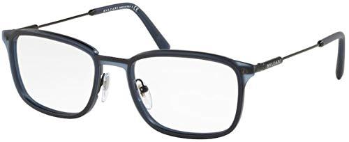 Bulgari 0BV 1101 128 54 Gafas de sol, Azul (Matte Blue), Unisex Adulto