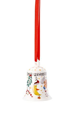 """Hutschenreuther Porzellanglocke""""Fröhliche Weihnacht überall"""""""