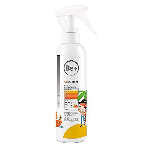 Be+ skinprotect protección solar pieles atópicas niños envase 250ml