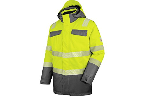WÜRTH MODYF Warnschutz Winter Parka 3in1 Neon EN 20471 3 gelb anthrazit: Der zertifizierte Winter Parka aus der German Design Award Winner Kollektion 2019.