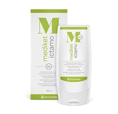 mediket ictamo Do You Suffer with Excessive sebum Production en Scalp and Related picores.? Does Not Regular Used of Anti anti-dandruff shampoos Help You? We Have a Solution. 80ml