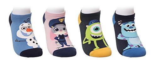 Kikiya Socks Character 4/5 pares de calcetines de tobillo