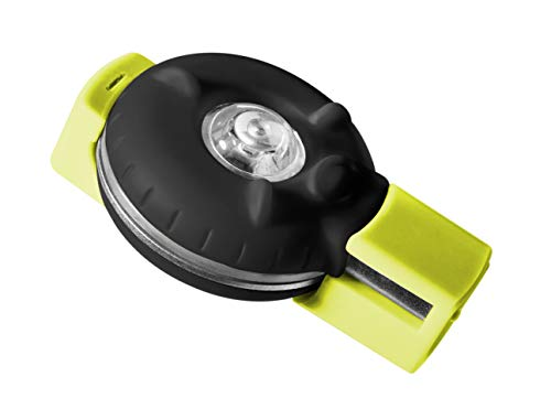Delta Cycle Rear Personal Safety Beacon Light Pet Dog Child Cycling Bike Stroller, Black/Green