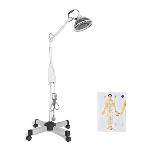 Ocye Infrarood lamp massageapparaat radiator minerale therapie arm verstelbare arm schoonheidsbehandeling pijnverzachtende timer