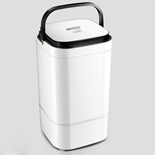 Tragbare waschmaschine und trockner Haushaltswaschmaschine, Zelt Waschmaschine, Toplader, Drehfunktion, 4.5kg große Kapazität, Timerfunktion, Energieeinsparung, ein stabiler Betrieb ( Color : Black )