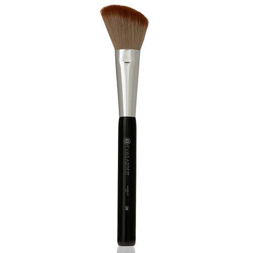 Evagarden make-up kwast nummer 28 (blusher/rouge, afgeschuind), 1 stuk (1 x 1 stuks)