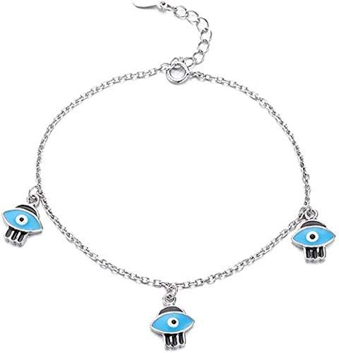 GLLFC Collar Moda y Las Mujeres Pulseras Temperamento Hipster Slot Glue Bracelet