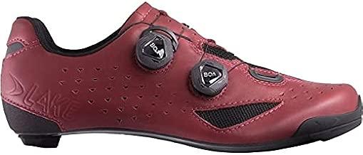 Lake CX238 Cycling Shoe - Men's Burgundy/Black, 44.0