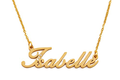 Kigu Isabelle Personalised Name Necklace - Gold Tone Packaging