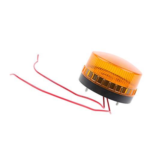 Sharplace LED Lampe Clignotant Ambre Lumière Straboscopique Motocyclette Auto