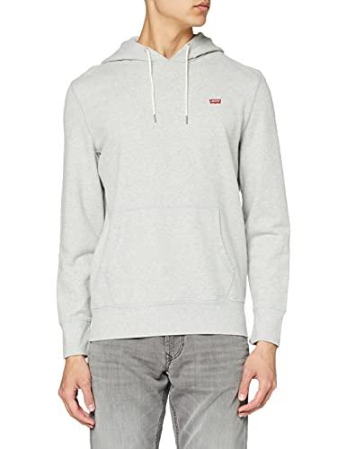 Levi's Original Hm Pullover Hoo Capucha, Gris (Medium Grey Heather (3) 0000), Hombre