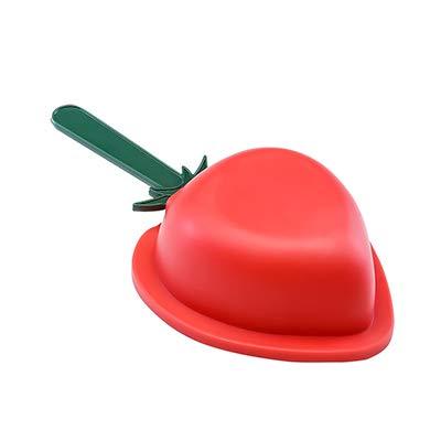 Coner holtes siliconen vriezer ijs schimmel candy bar maken tool sap ijslolly mallen lolly lade ijsblokjesmaker, rood