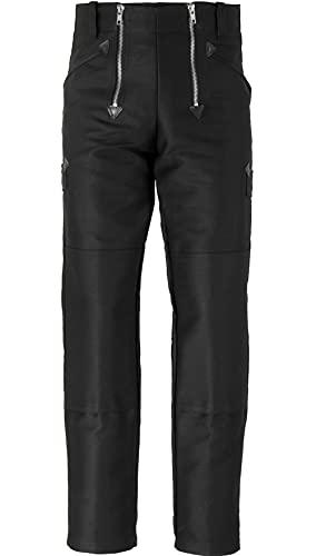 JOB Zunfthose aus Doppelpilot mit Kniepolstertaschen, gerade Form, Größe 48