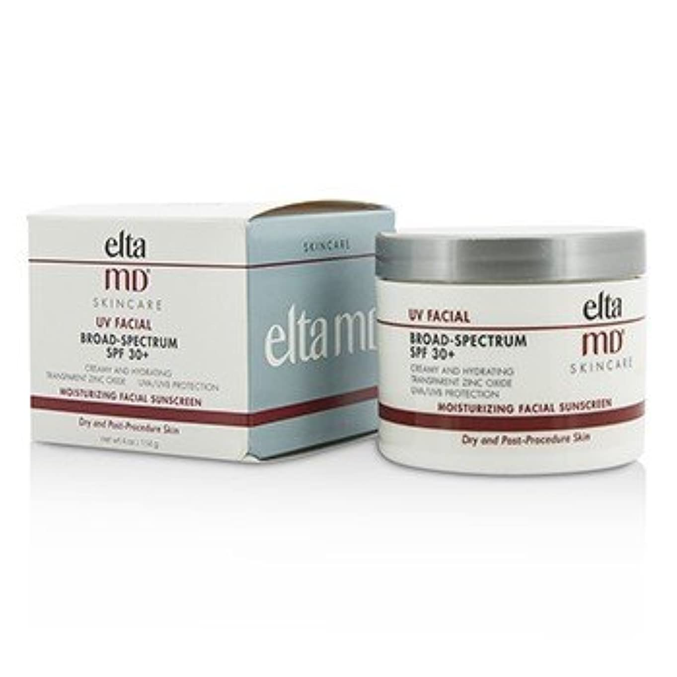 ディプロマ反映する分析的な[EltaMD] UV Facial Moisturizing Facial Sunscreen SPF 30 - For Dry & Post Procedure Skin 114g/4oz