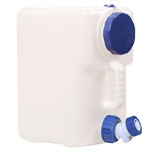 RedSwing 4 Gallon/15L Portable Water Container with Spigot, Water Storage Carrier for Camping Outdoor Hiking, BPA Free