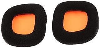 1 Pair Black Replacement Cushion Earpads for Plantronics GameCom 780 367 377 777 Headphones