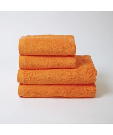 10XDIEZ Toalla algodón 550 gr/m2 Mandarina - Color - Naranja