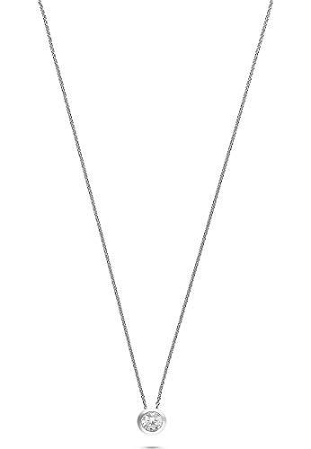 JETTE Silver Damen-Kette 925er Silber 1 Zirkonia One Size 86505711