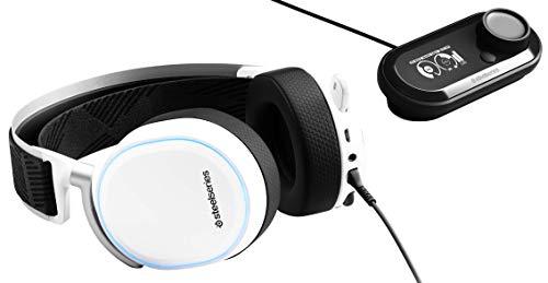 SteelSeries Arctis Pro GameDAC – Gaming-Headset – zertifizierte hochauflösende Audioqualität – ESS Sabre DAC - Weiß