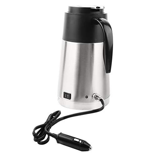 Edelstahl Auto Elektrische Heizung Becher Trinkbecher Reise Wasserkocher Wasserkocher für Wasser Tee Kaffee Milch(12V Car)