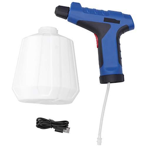 Snufeve6 Regadera eléctrica, con luz LED, Planta eléctrica, Botella rociadora, al Aire Libre para fertilización de Jardines, Limpieza de Cocina