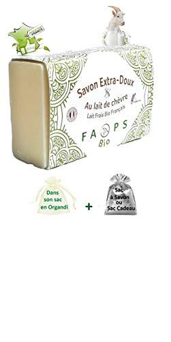 Savon Artisanal Français 12% lait de Chèvre frais...