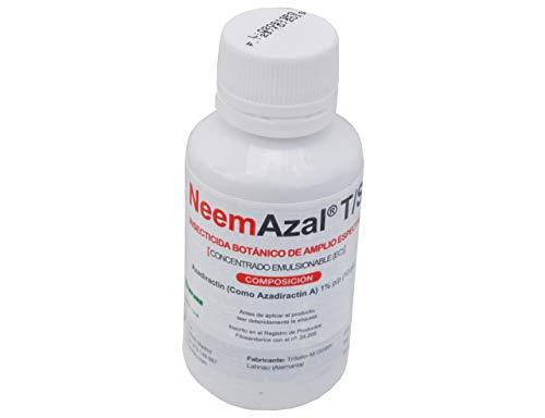 CULTIVERS Aceite de Neem para Plantas súper Concentrado (Azadiractina al 1%) Insecticida Ecológico para Todo Tipo de Plagas. Proceso de Extracción Patentado Máxima Eficacia. (30 ml)
