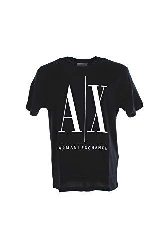A X Armani Exchange Men's Icon Graphic T-Shirt, Navy, XS