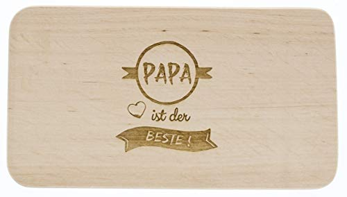 Tabla de Madera de Aliso, papá es el Mejor, día del Padre, Regalo para Hombres, Tabla de Cortar, Madera, Idea de Regalo para papá