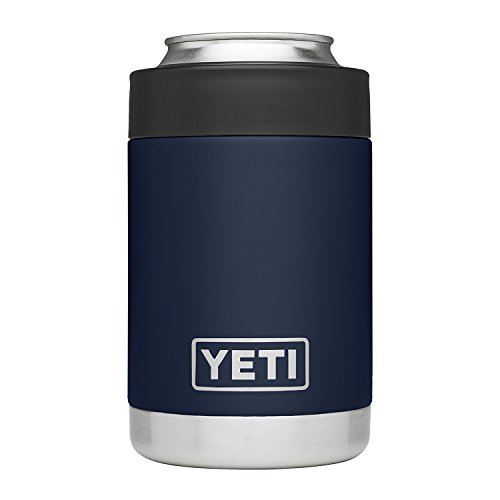 YETI Rambler Vacuum Insulated Stainless Steel Colster, Navy