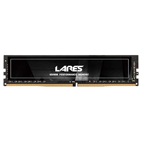 LEVEN DDR4 8GB (8GB×1) 2133MHz PC4-17000 CL15 Unbuffered Non-ECC 1.2V UDIMM 288 Pin PC Computer Desktop Memory Module Ram Upgrade- Lares(JR4UL2133172408-8M)