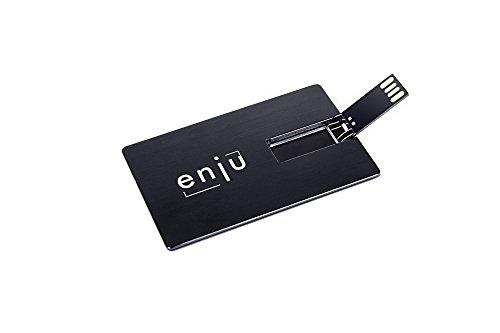 USB-Card enju USB-Stick im Kreditkartenformat für die Brieftasche und Büro 16GB USB 2.0