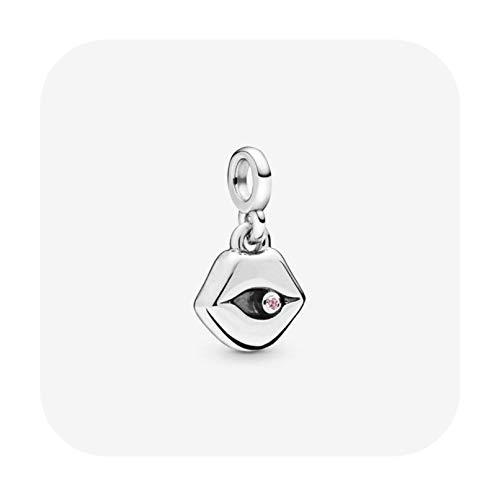 925 Sterling Silver Pan Earring Large Asymmetric Hearts Of Love Earrings For Women Wedding Gift Fashion Jewelry-Violet
