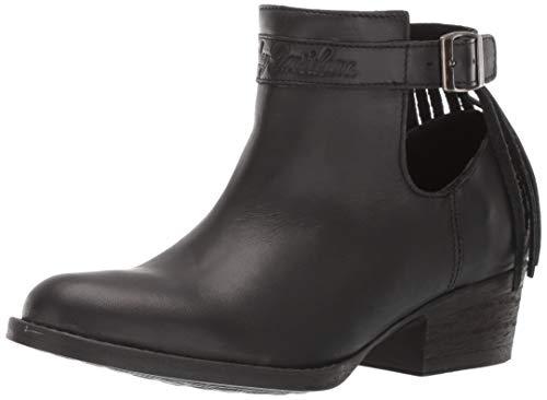 HARLEY-DAVIDSON FOOTWEAR Women's Amory Boot, Black, 07.5 M US