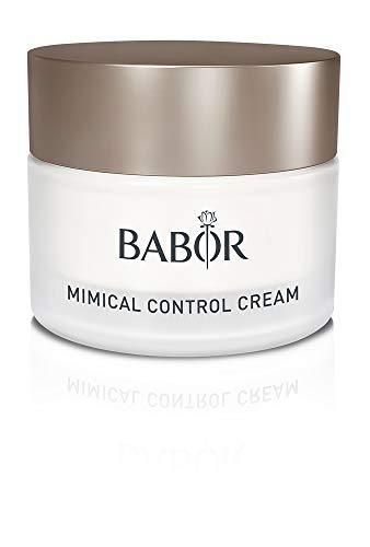 BABOR CLASSICS Mimical Control Cream, 24h Pflege zur Milderung von Mimikfalten, für ein jugendlich-frisches Aussehen, vegan, 50ml