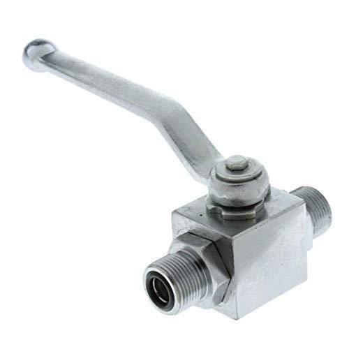 Tubayia DN10 Hydraulischer Kugelhahn Kugelventil Ablasshahn Absperrventil für Gewerbe und Industrie