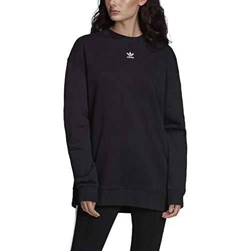 adidas Originals Sweater Suter Pulver, Negro, 40 Femenino