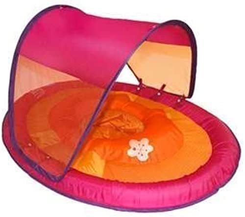 Swimways Toys Swimways Baby Spring Float with Canopy - Rosa with Mermaids by Swimways