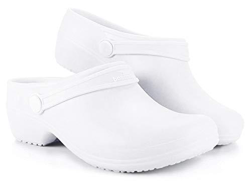 Boaonda Bio Synthetic Clogs (10, White)