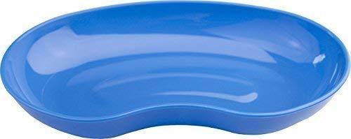 Medi-Inn Nierenschale aus Kunststoff | blau - 5 Stück | wiederverwendbar | lebensmittelecht, desinfizierbar, autoklavierbar | stabil & vielseitig einsetzbar