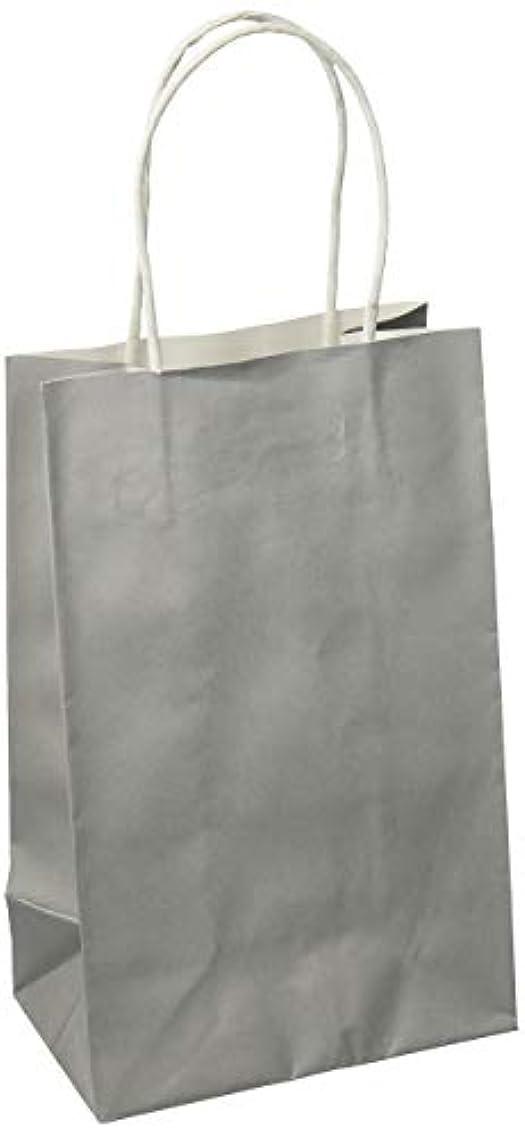 Silver Solid Kraft Bag Cub