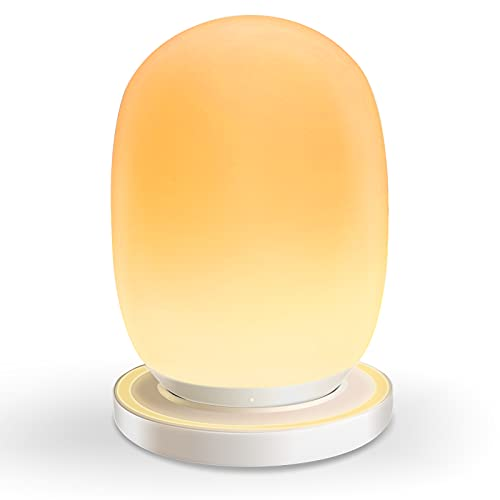 Night Light for Kids with Stable Charging Pad, Baby Night Lights with Timer and Touch Control, Warm...